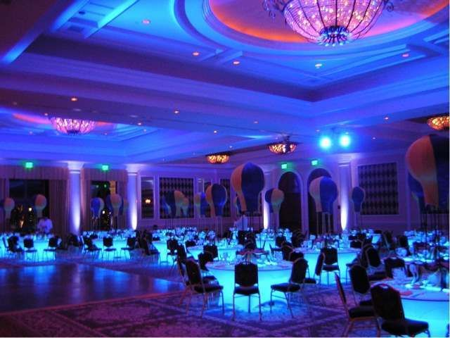 Banquet Hall Premium Led Lighting Kit Under Table Decoration Or Anywhere