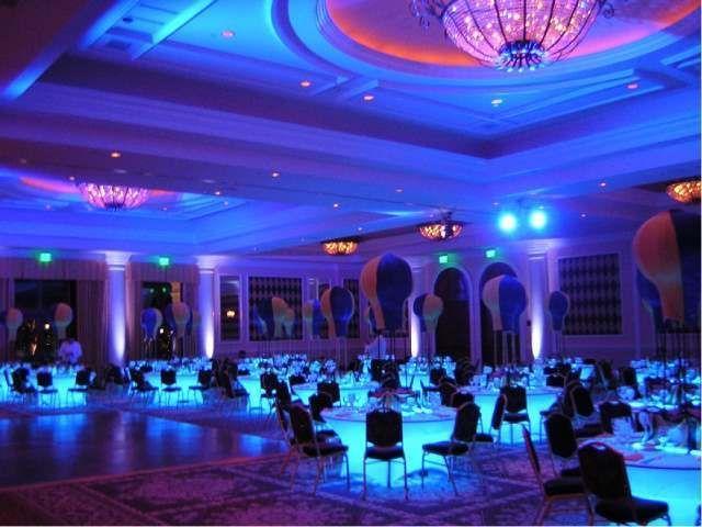 Details About Banquet Hall Premium Led Lighting Kit Under