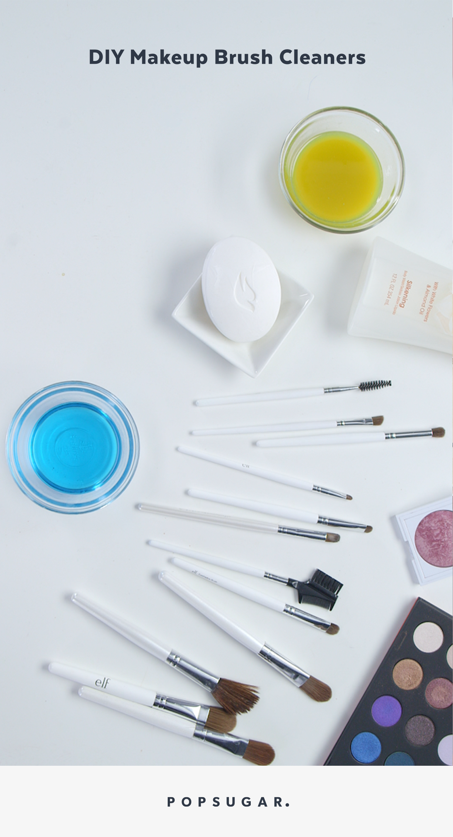 Here S Three Easy Ways To Clean Your Makeup Brushes At Home In The Most Naturally And Easie Diy Makeup Brush Diy Makeup Brush Cleaner Makeup Yourself