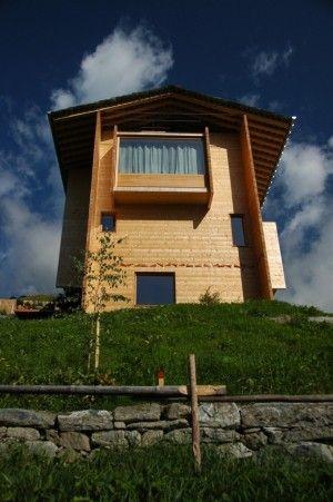 Annalisa Zumthor House Peter Zumthor Vals Switzerland Mimoa