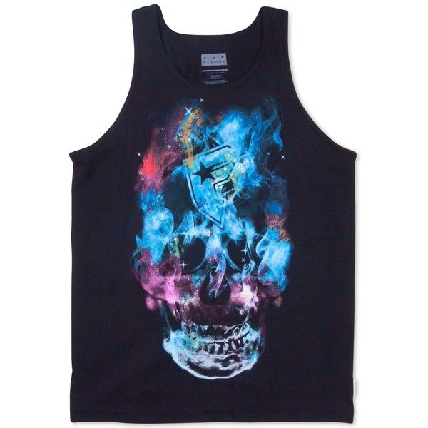Famous Stars and Straps Men's Graphic-Print Tank Top ($22) ❤ liked on Polyvore featuring men's fashion, men's clothing, men's shirts and men's tank tops