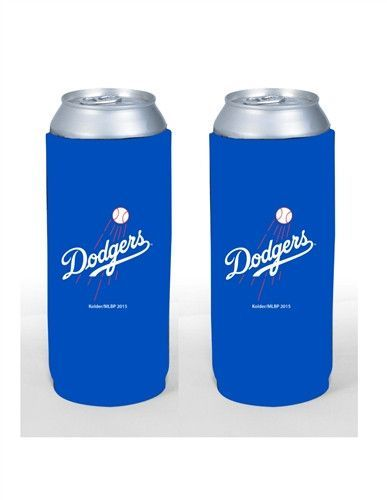 Los Angeles Dodgers 24 oz Tall Boy Cooler 2 Pack