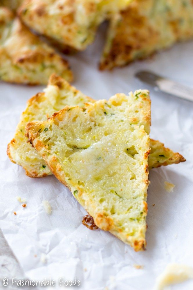Cheddar Zucchini Scones