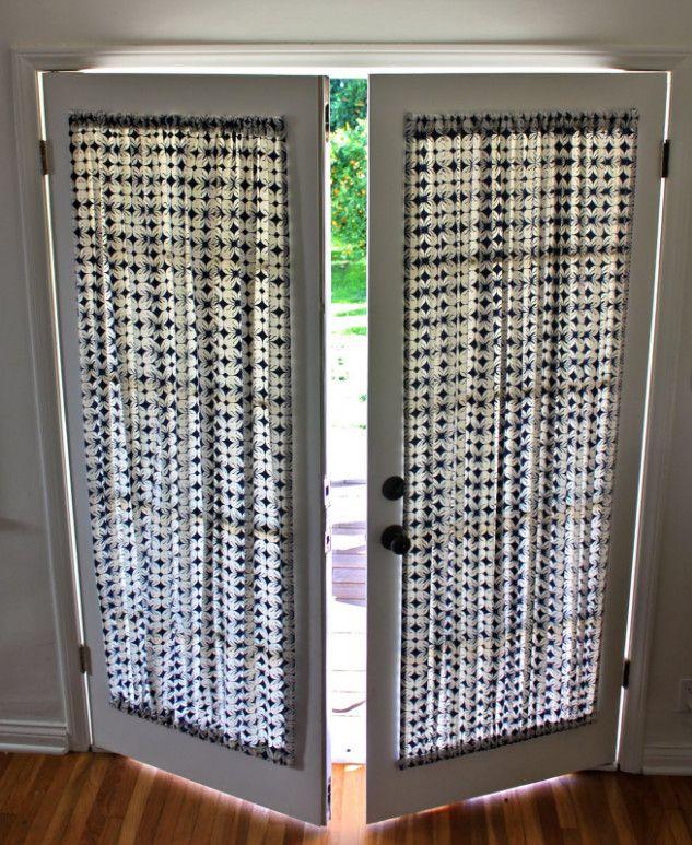 Atrium Door Curtain Ideas