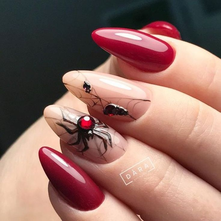 Rate from 1 to 10 in 2020 | Halloween nails, Nail art ...
