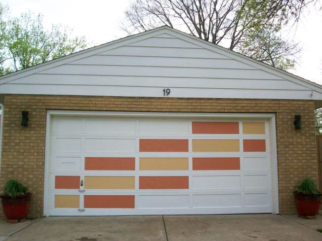 Create A Modern Garage Door With This Easy Diy Idea Retro