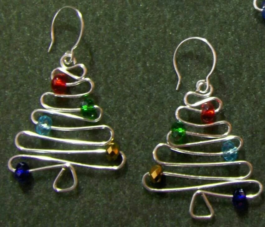 Jewel Christmas Tree Decorations: So Easy To Make.....