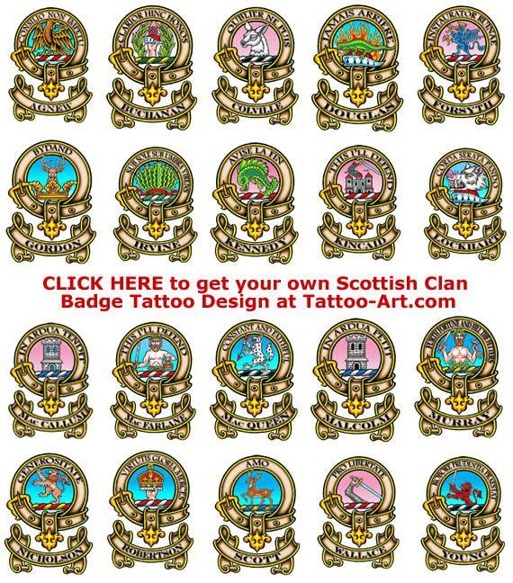 Download Free Scottish Warrior Symbols Scottish Clan Badge Tattoos To Use And Take To Your Artist Celtic Warrior Tattoos Scottish Warrior Celtic Warriors