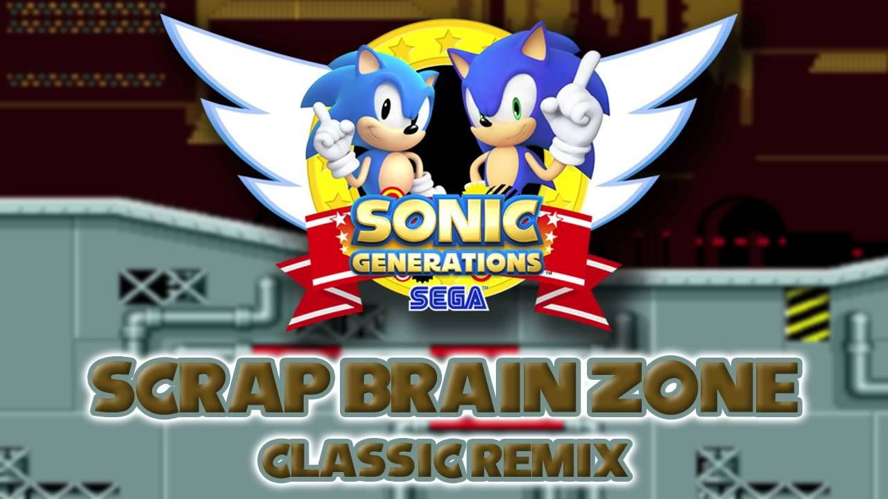 Scrap Brain Classic - Sonic Generations Remix | Amazing