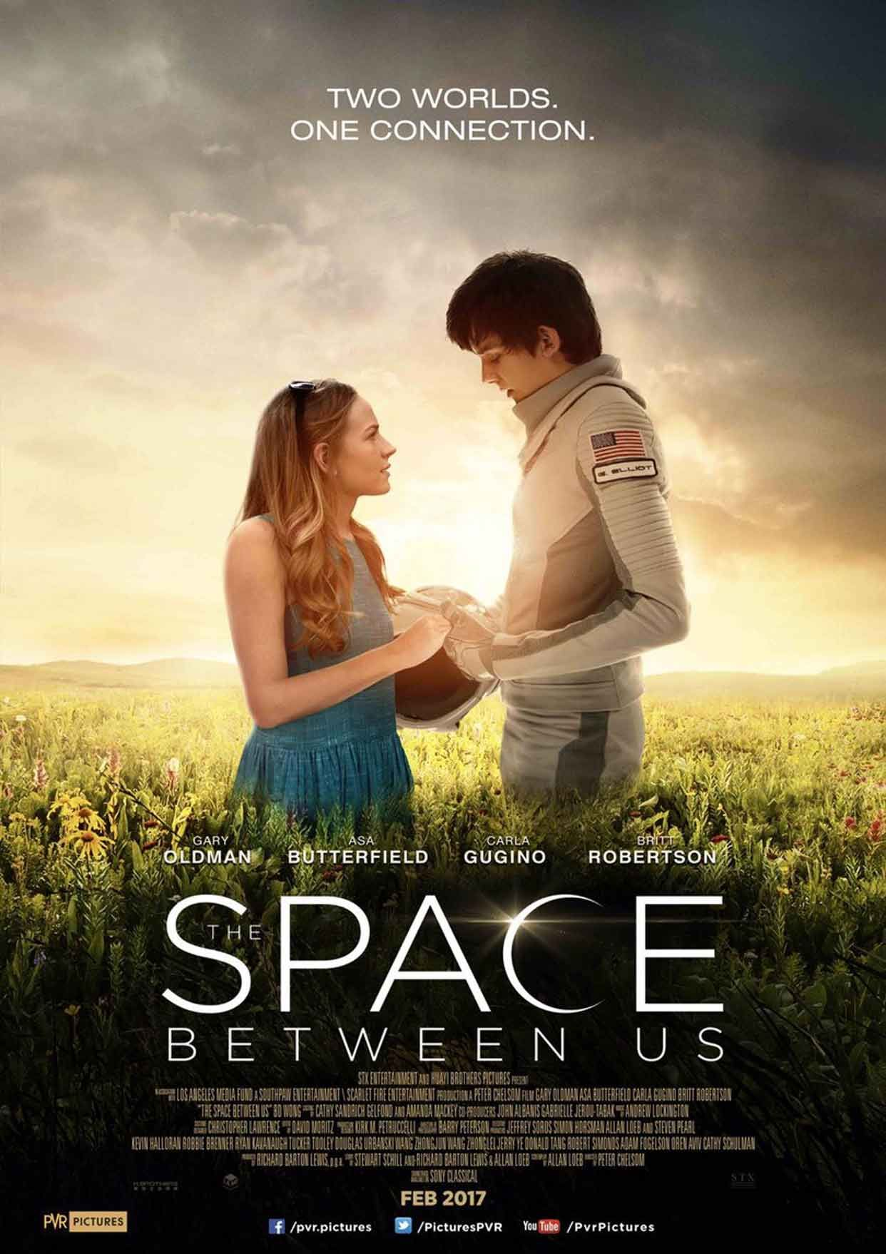 The Space Between Us Stream