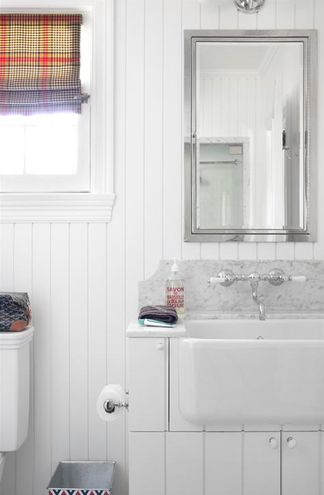 Burnham Design Bathrooms Beabdoard White Beadboard Bathroom