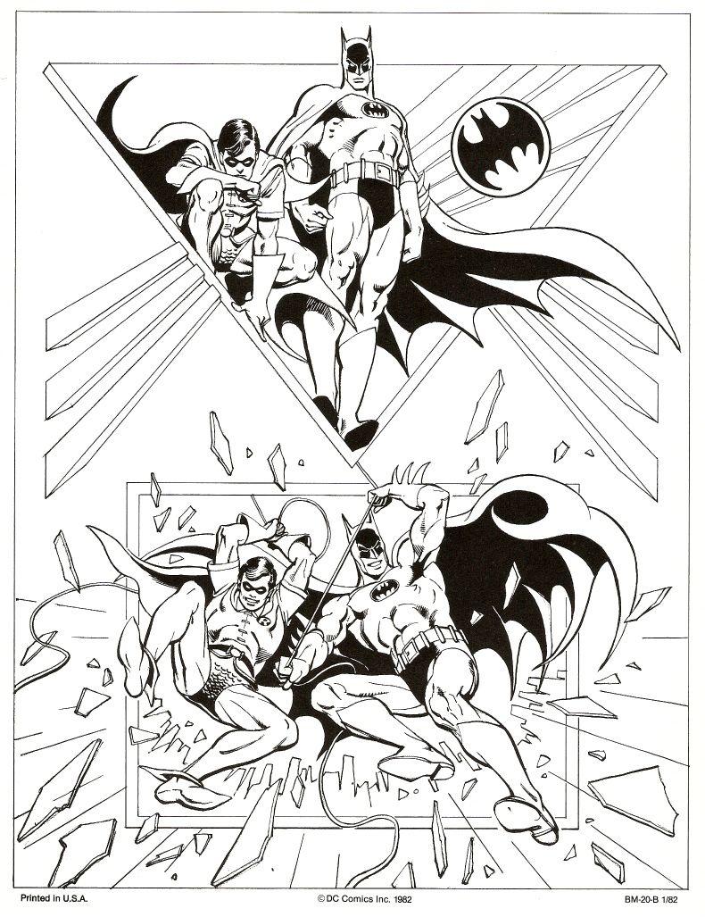 José Luis García-López: DC Comics style guide for Batman