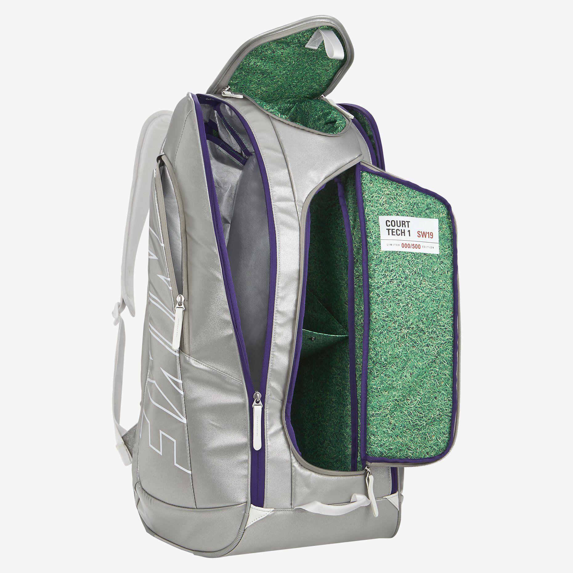 Nike Court Tech 1 SW19 Tennis Backpack. Nike Store  e335ccc7aa7c2