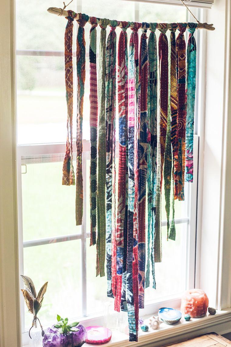 Retro Revival Hanging Fabric Fabric Scraps Crafts