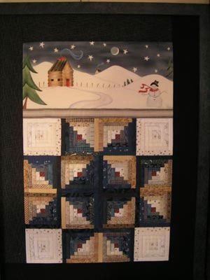 Winter Cabin Stencilscape Class Sat Jan 25 2014 9am 5pm With Jackie Paton Quilt Shop Quilt Kits Quilt Patterns