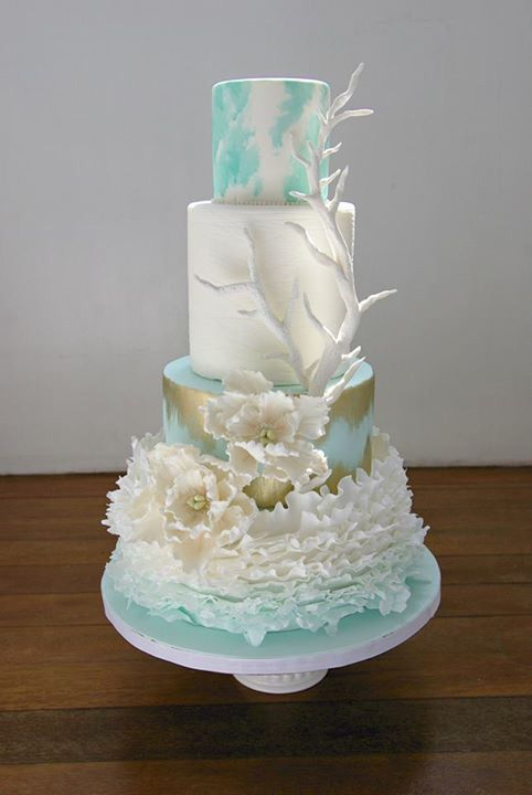 Beach Themed Wedding With Images Beach Wedding Cake Themed
