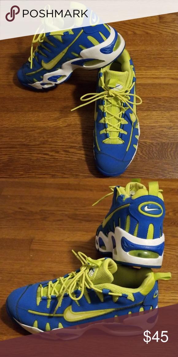 Nike Sneakers | Blue shoes men, Black