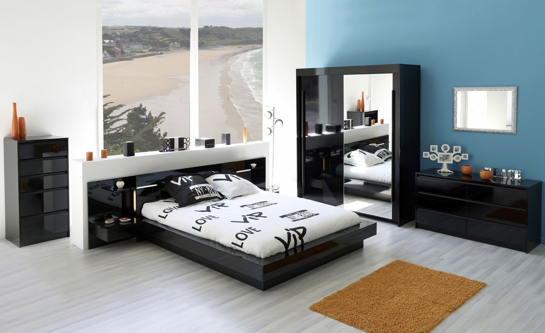 chambre a coucher one cap endroits visiter pinterest. Black Bedroom Furniture Sets. Home Design Ideas