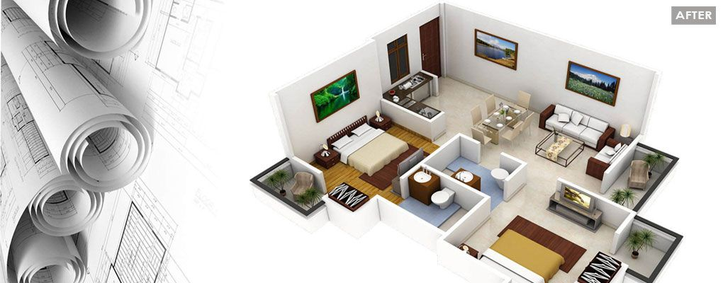 we will create any 2d or 3d floor plan design for any of your