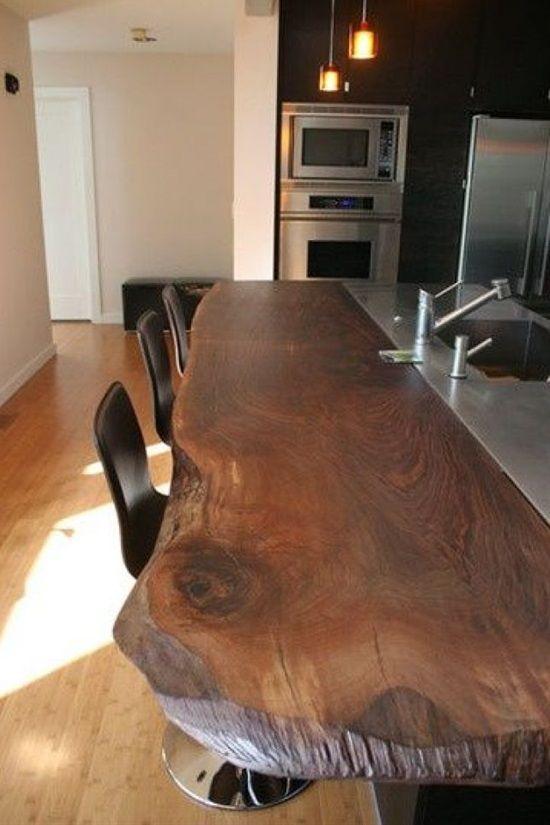 39 Stunning Kitchen Island Ideas | Móveis de madeira rústica