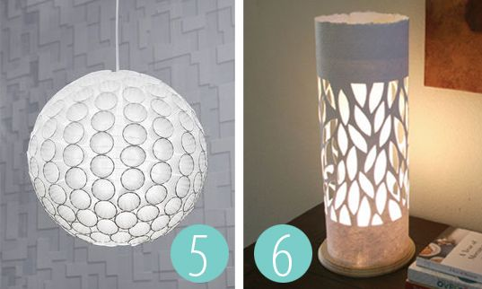 Small Paper Lamp Shades 25 Diyable Paper Light Shades Diy Pinterest Paper  Light .