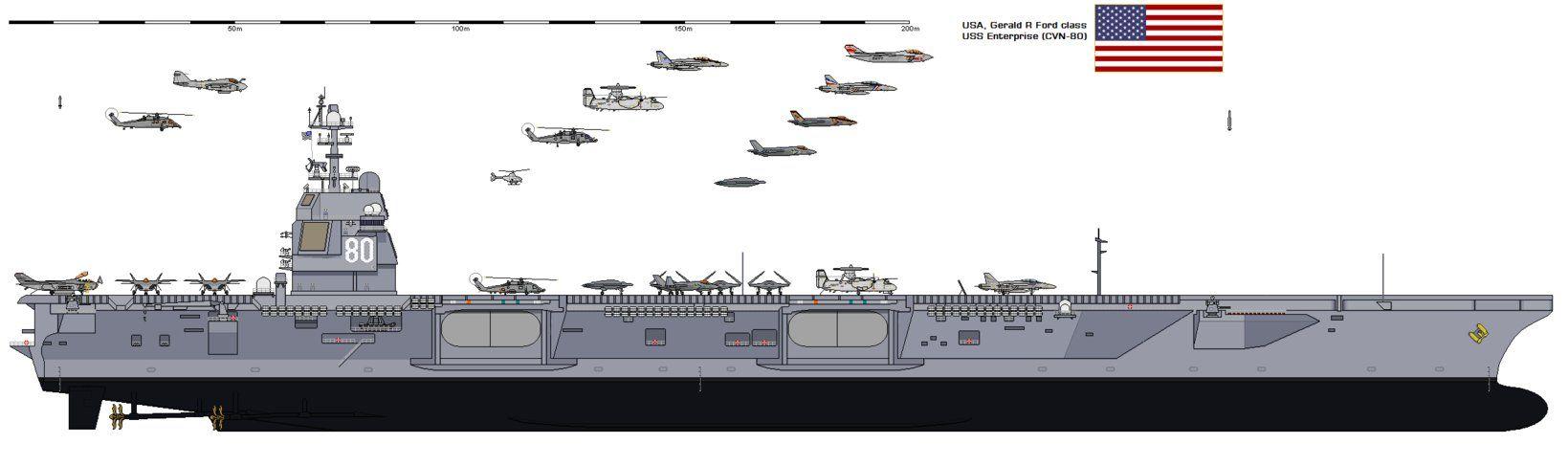 CVN-80 CVN-80 USS Enterprise by SILVER-70CHEV on DeviantArt
