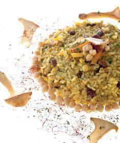 Paella speziata ai 4 legumi con zucca e funghi tutte le for Z cucina menu