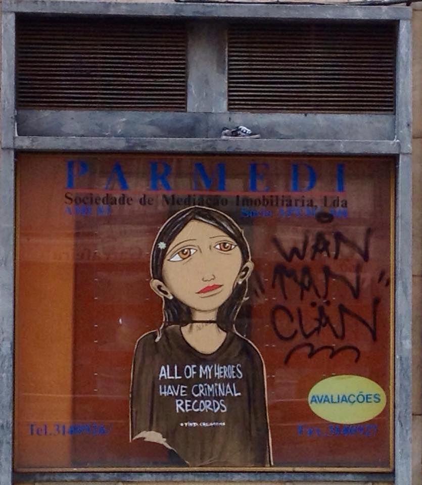 Tinta Crua. Baixa Lisbonne