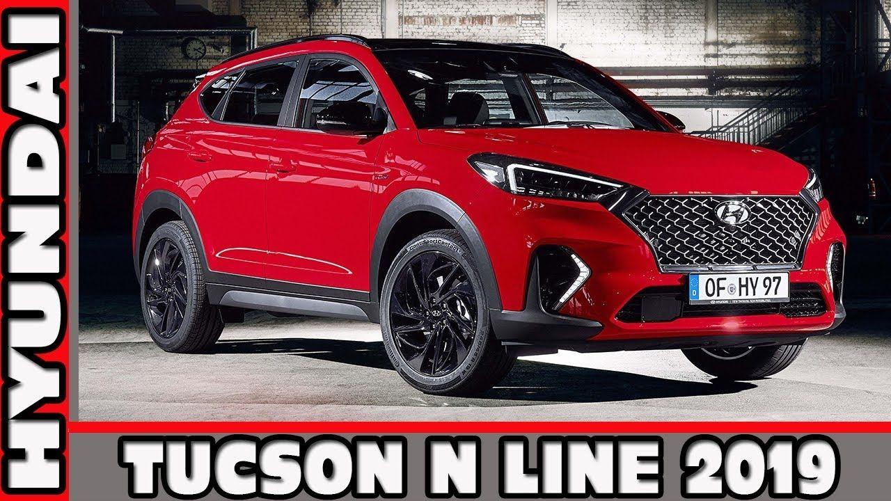 Хёндай Туссан Н Лайн 2019 Hyundai Tucson N Line 2019