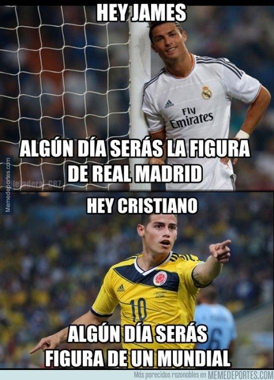 Meme James Y Ronaldo Real Madrid Real Madrid Soccer Ronaldo Real Madrid Soccer Memes