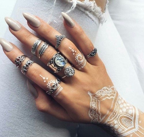 Pin by Diana Ortiz on Nails   Henna nails, Nails, Strong nails