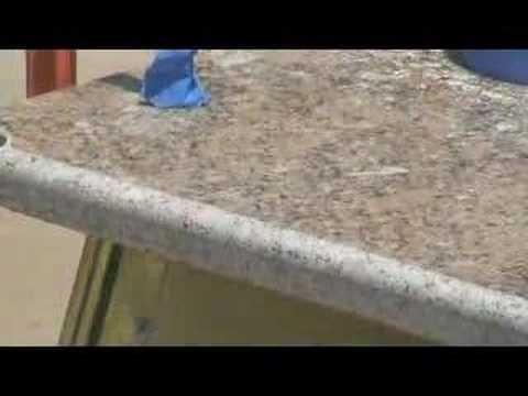 Exceptional How To Profile U0026 Polish Granite Countertop DIY
