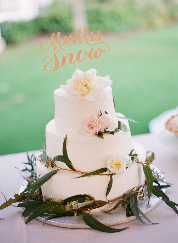 Elegant boca grande spring wedding floral designs wedding cake