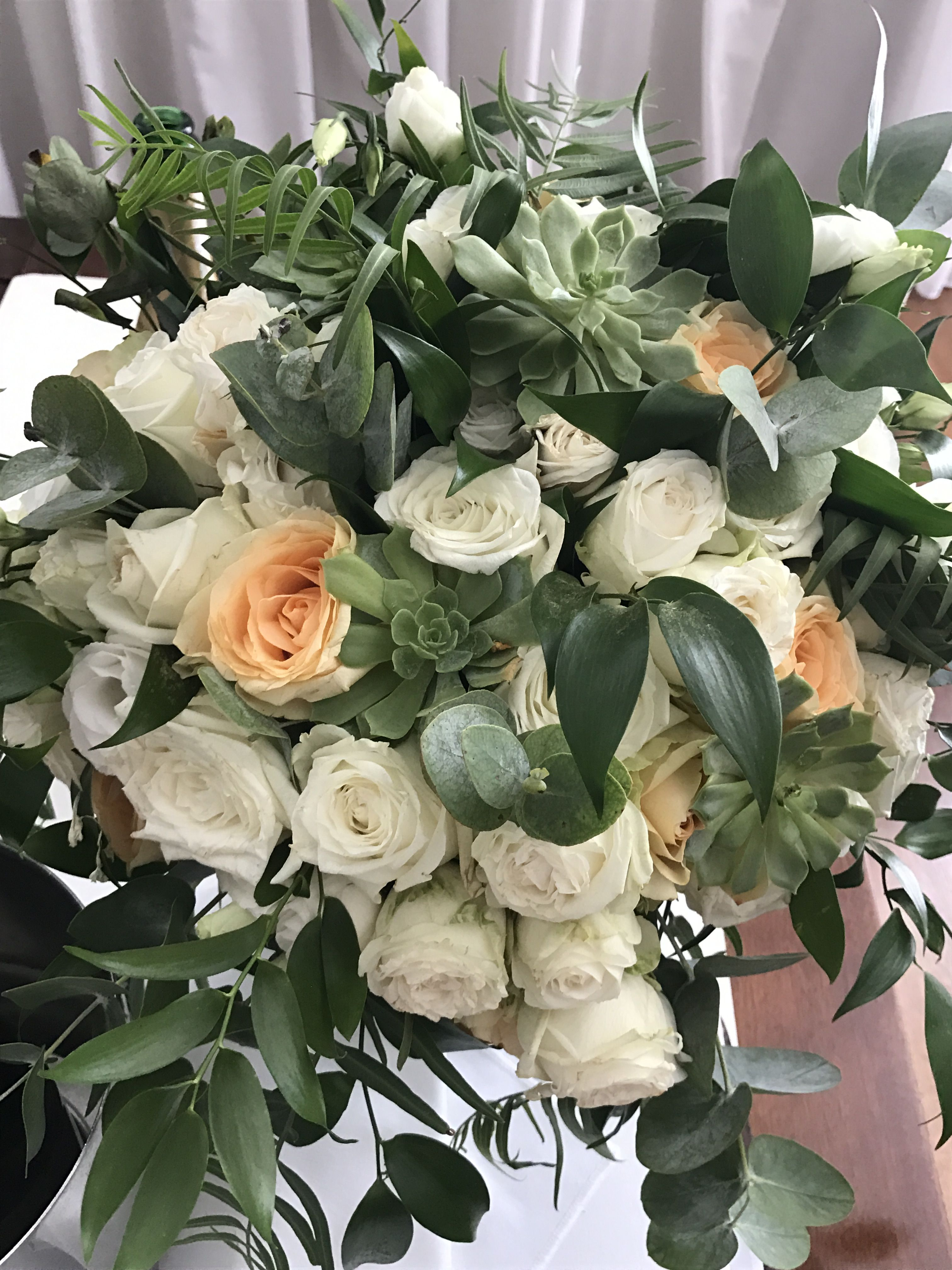 Wedding flowers by the fantastic florist George in Cyprus This