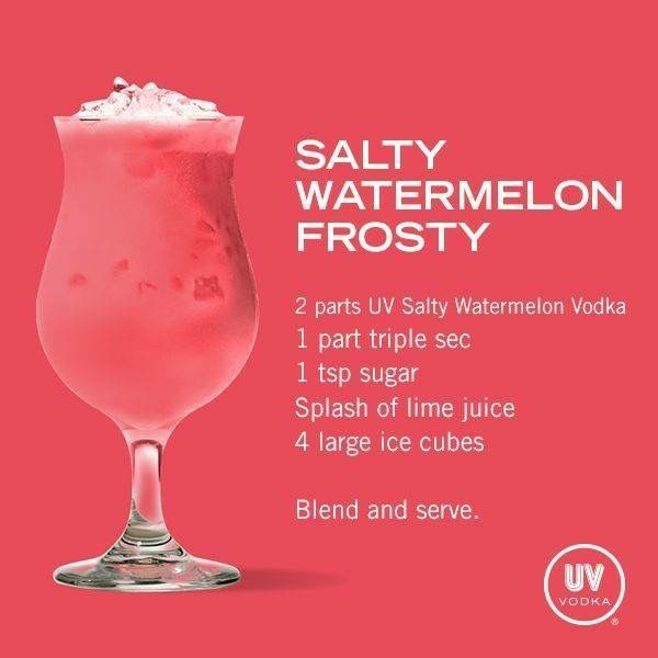 Vodka Recipes, Watermelon Vodka