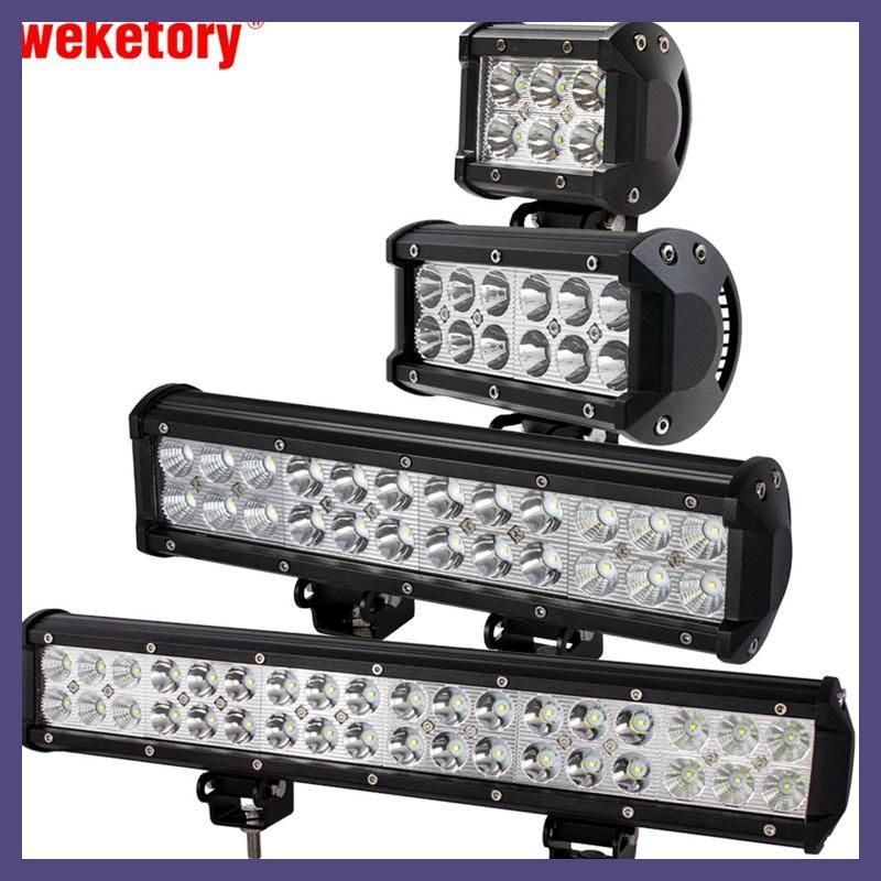 Weketory 4 7 12 17 inch 18w 36w 72w 108w led work light led bar weketory 4 7 12 17 inch 18w 36w 72w 108w led work light led bar light aloadofball Images