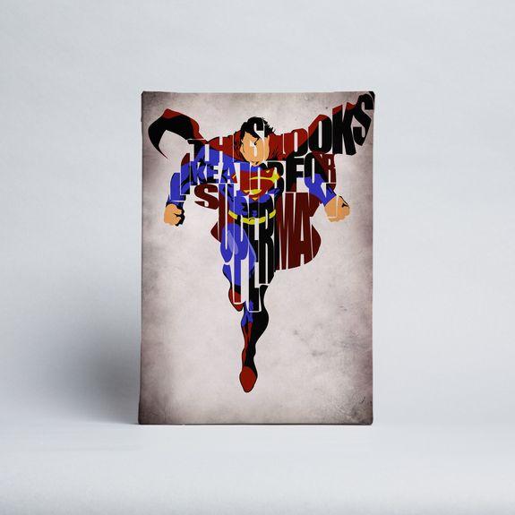 Ayse - Superman Job - Canvas