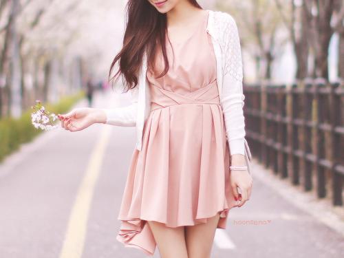 Asian Blossom Cherry Blossom Dandelion Dress Fashion Flowers Girl Girly Hair Japan