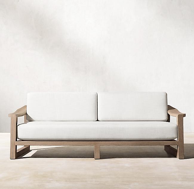 72 Sebastian Teak Sofa In 2020 Teak Sofa Teak Furniture Outdoor Furniture Sets