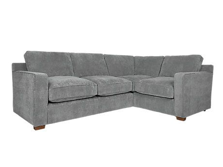 Sydney Left Hand Facing Corner Group Harvey Furniture Fabric Sofa Leather Sofa