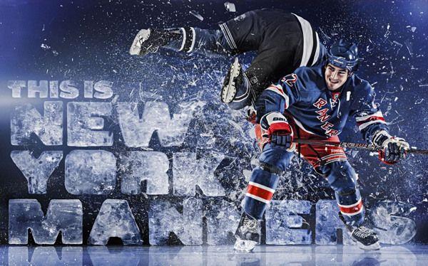 NY Rangers on Behance