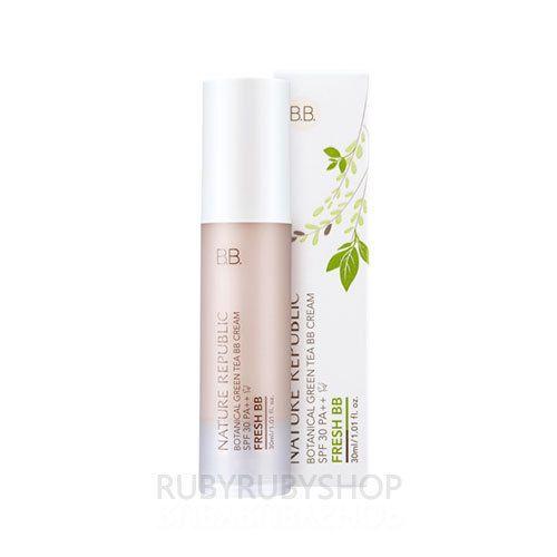 NATURE REPUBLIC Botanical Green Tea BB Cream 30ml - #23 Fresh BB (SPF30 PA++)