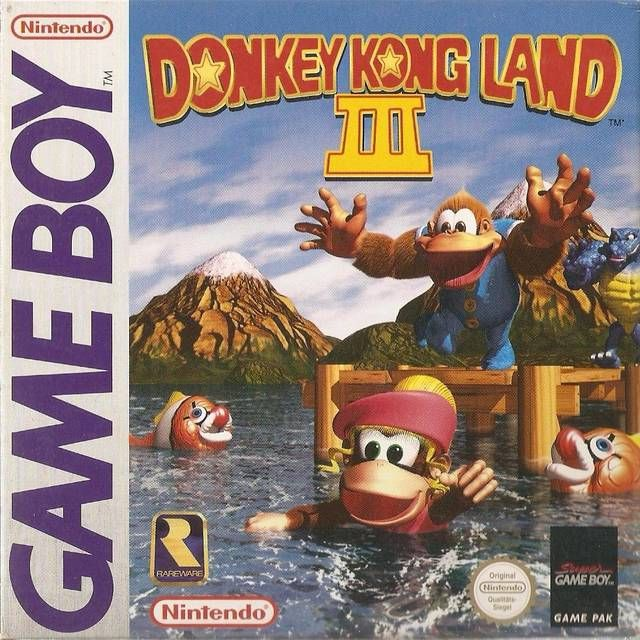 Donkey Kong Land Iii For The Gameboy Gameboy Gameboy Games Donkey Kong