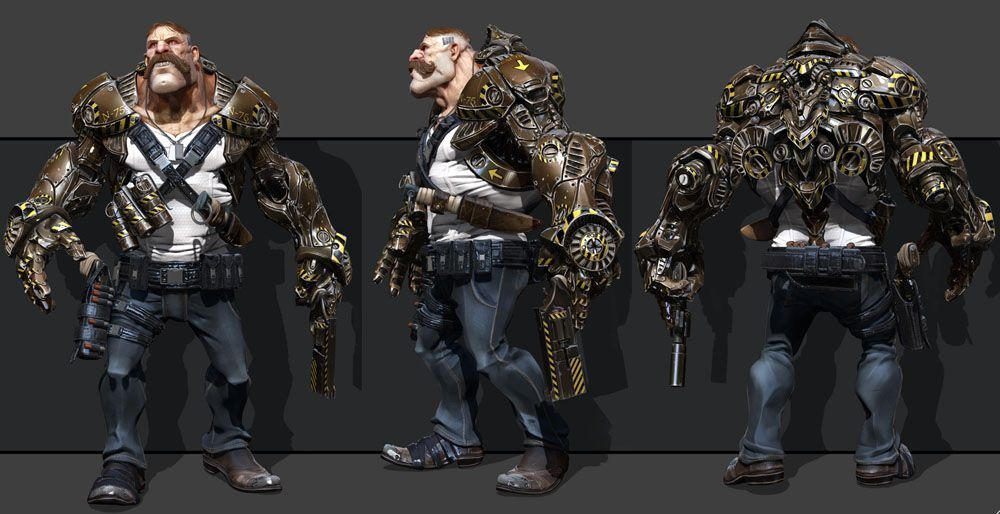 Character Design Zbrush : Creative zbrush models and d sculpture designs for