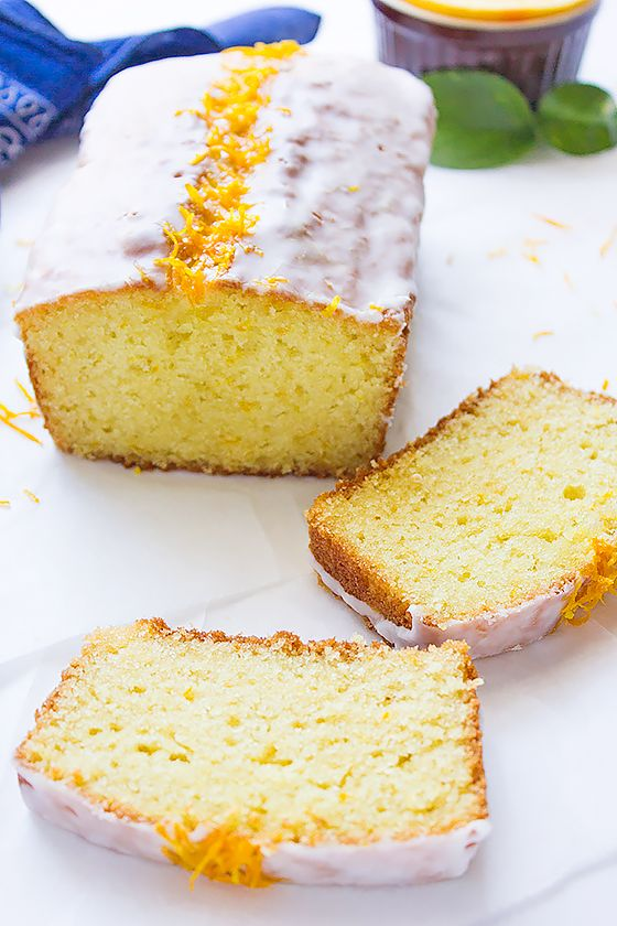 Orange Sour Cream Loaf Cake Munaty Cooking Sour Cream Recipes Sour Cream Cake Orange Cake Recipe