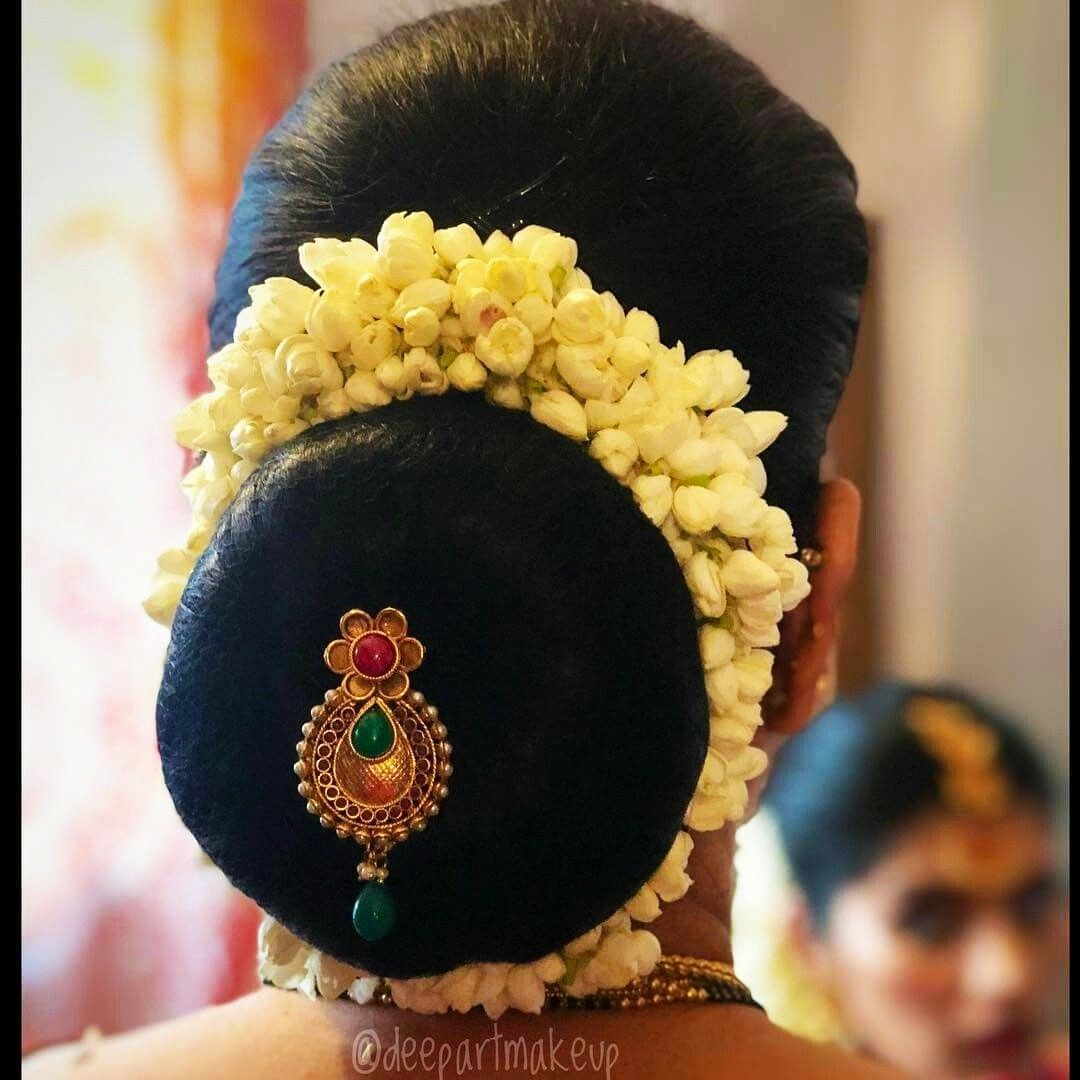 What a beautiful low bun with real flower gajra & juda pin! Care however should be taken before ...