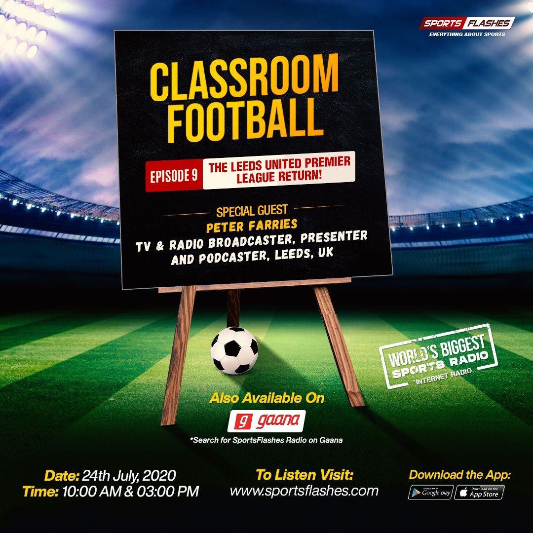 The Leeds United Premier League Return Sport Radio World Radio Sports Classroom