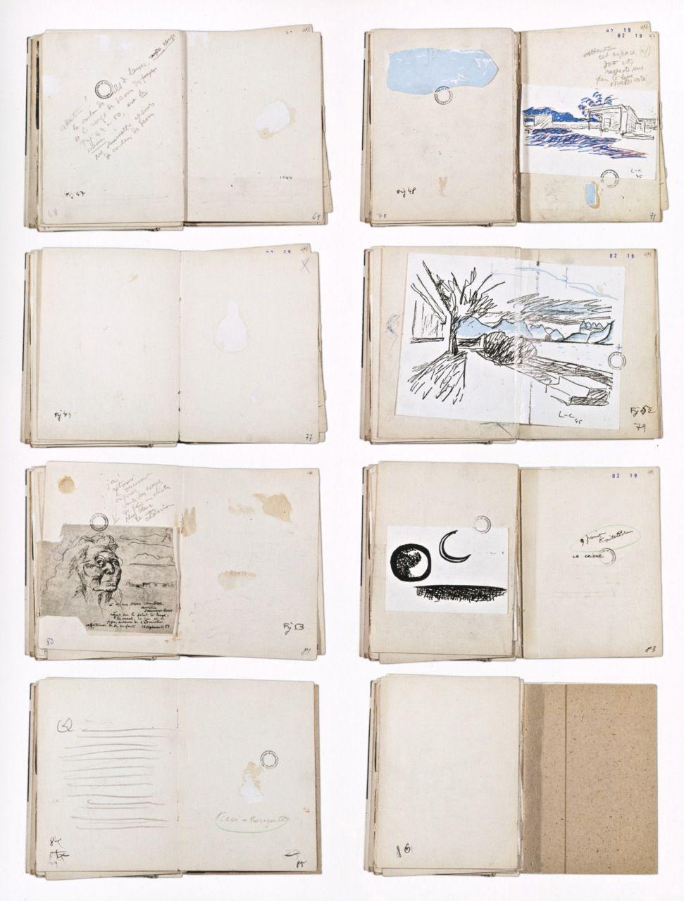 """La Petite Maison Atlanta le corbusier, book dummy for """"une petite maison"""", (1954"""