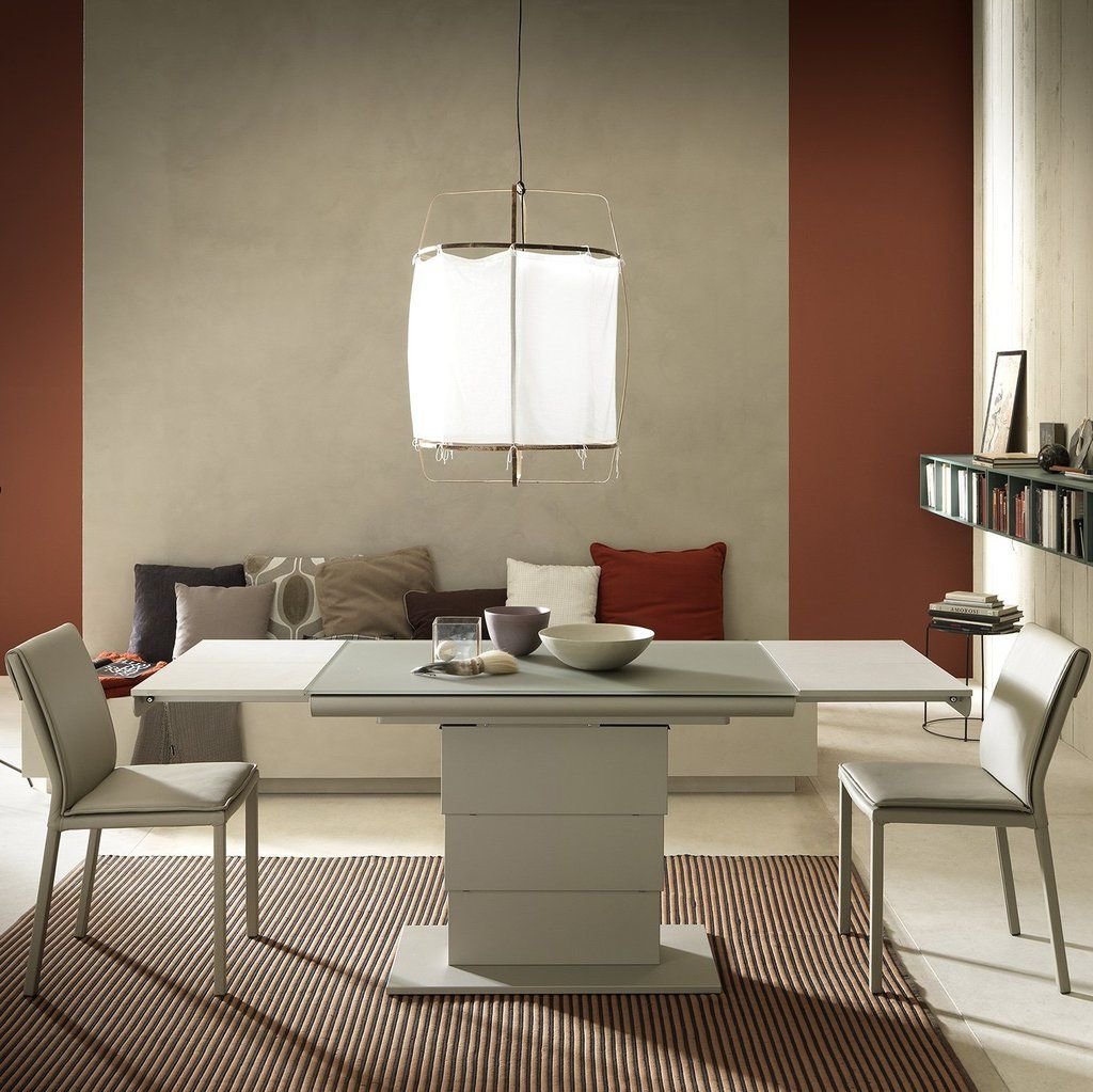 Dining Room Corner Decorating Ideas Space Saving Solutions: Armadillo Glass ~ Coffee/dining Table