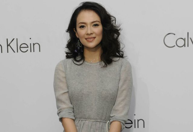 Zhang Ziyi, Dakota Johnson, Louis Koo plus more celebrities attended this Calvin Klein celebratory event, replete with underwear-clad models at an one night only glass house installation.